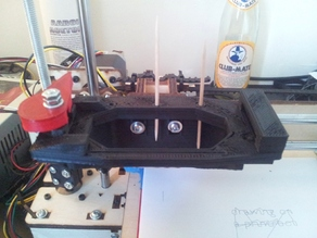 Quick-Fit X Carriage for @Printrbot LC