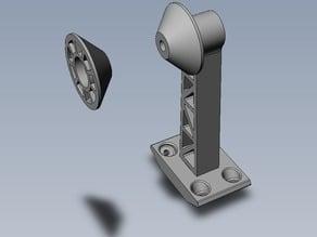 Bllama Mendelmax Filament Spool Holder