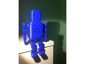 Chumbo- Cute Articulated Robot