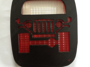 Jeep tail light cover 2