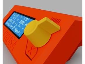 Prusa i3 MK2/3-style tall LCD knob