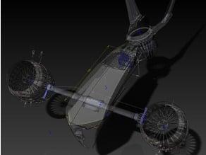 Terminator T1 Aerial hunter EDF drone
