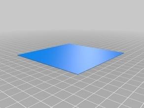 Jednoduchý kalibrační čtverec 0,2mm