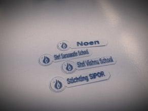 Sleutelhanger Newcandle