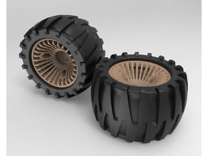 Off-Road Wheels for Longboard or Skateboard