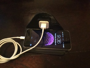 iPhone wall outlet charging station