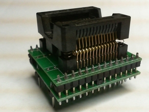 EEPROM K150 SOIC28-DIP28 adapter box