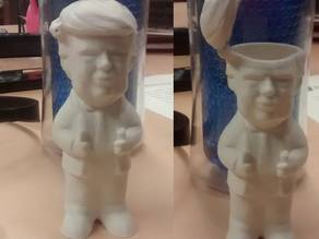Donald Trump Candy Holder