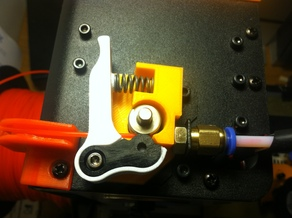 MP mini select extruder base improved