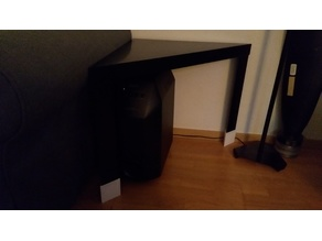 IKEA Lack 70mm height adapter
