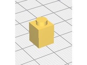 brique lego 1X1