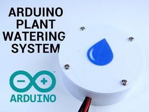 Arduino based plant watering system