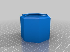 My Customized Parametric Dust Collector Adapter
