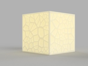 Voronoi Tea Light Shade