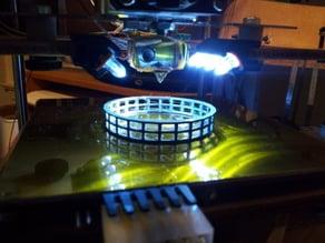 Z Stage LED strip clip