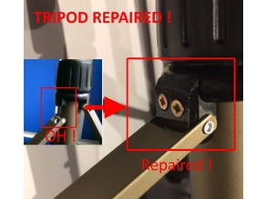Repair Hama Tripod Star 61