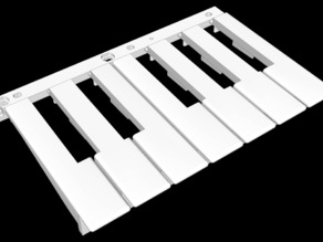White keys for the Arturis MiniLab