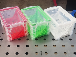 Resin Cleaning Container