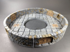OpenForge 2.0 Dungeon Stone Curved Floors