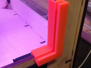 Makerbot Replicator Panel Holder