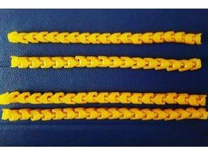 Snakez Bracelet - 16 links version