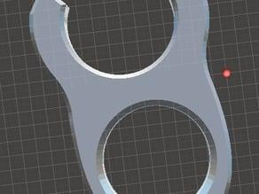 Adjustable Bowden clamp / shim redone