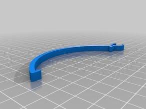 Cables clamps FLSUN-QQ printer