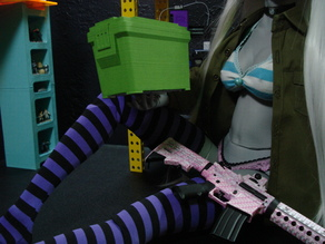 1/3 ammo box for ball joint doll bjd