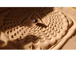Sand Drawing machine