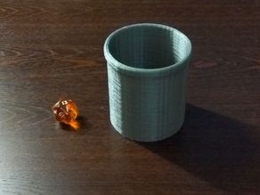 Magnifying Dice Cup