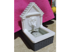 Crib Fountain (Fontanile per presepe)