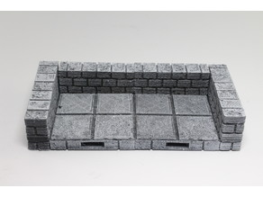 OpenForge Cut-Stone OpenLOCK Half Height Walls