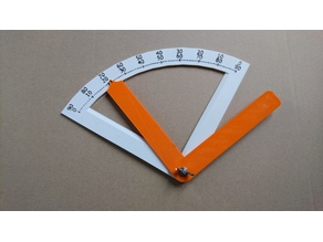 Angle meter for wrist, knee, ankle