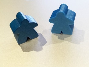 Carcassonne game figure / Meeple