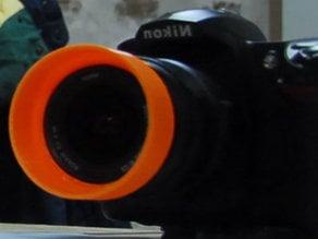 Nikon AF-S Nikkor 18-55 mm lens hood