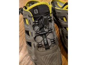 Replacement lace lock for Salomon shoes and others with cord locks