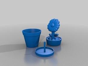 Nested Flower Pot Stash Box 3