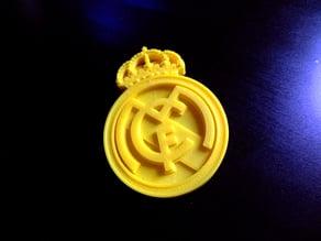 Real Madrid team badge