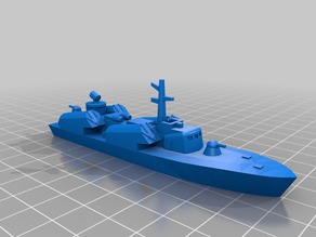 1/350 OSA-1 Missile Boat