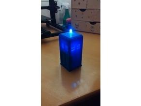 PoliceBox / Tardis with Light