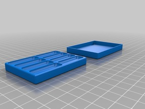 2x4 slim Magnetic Screw Tray/Box