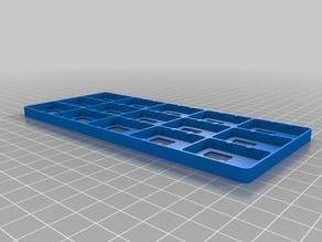 Customized Nintendo Switch Cartridge Holder (3x5 carts)