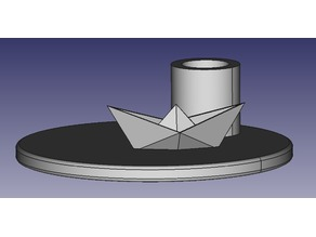 origami_boat_candlestand