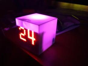 Domotica temperature and status box