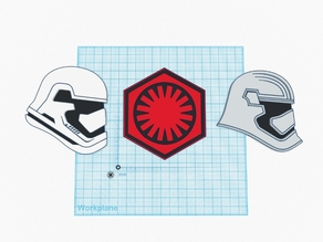 The Force Awakens Drink Coasters
