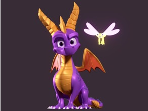 Spyro Statue - Reignited Trilogy