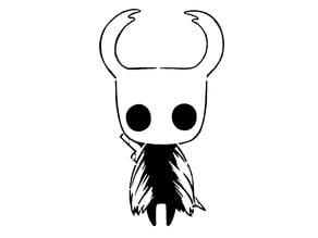 Hollow Knight stencil