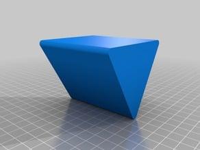 Triangle desk organizer