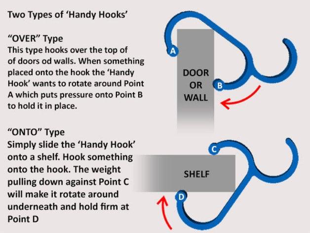 Handy Hooks By Muzz64 Thingiverse