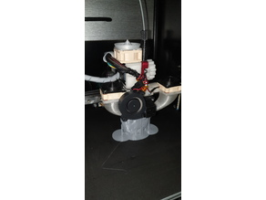 Snail fan e3dv6 hotend adapter